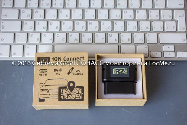 Трекер iON Connect от iRZ Online