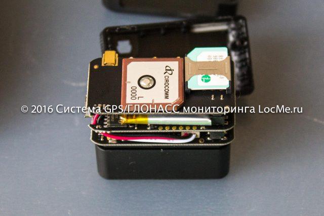 Трекер iON Connect в порт OBDII - антенна и держатель сим-карты формата мини