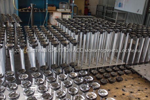 Заготовки датчиков уровня топлива подготовленные к сборке