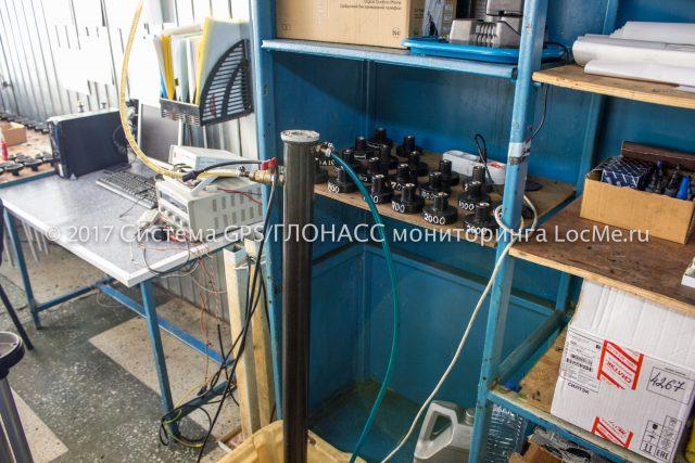 Установка для тестирования датчиков уровня топлива