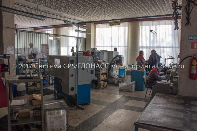 Механический участок завода Флометр
