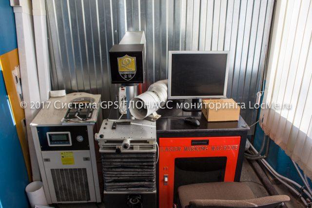 Машина лазерной маркировки продукции