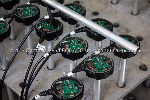Датчики уровня топлива DUT-E залитые компаундом