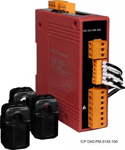 3-фазный компактный измеритель параметров сети ICP DAS PM-3133-100