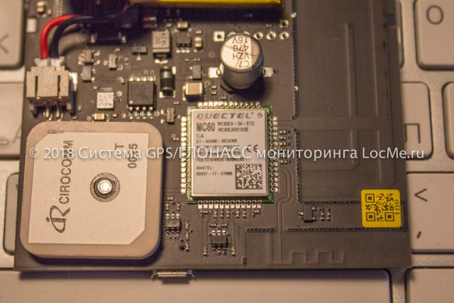 Универсальный модульQuectel MC60 обеспечивает прием сигналов GNSS и связь через GSM