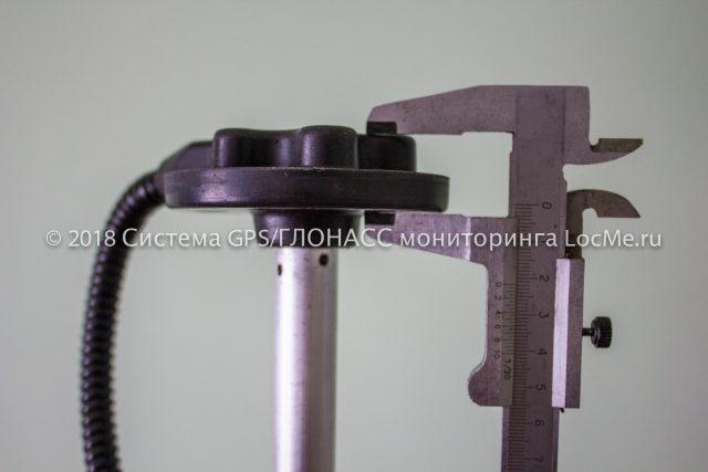 Датчик уровня топлива AutoSat ДУТ12-01 - геометрические характеристики