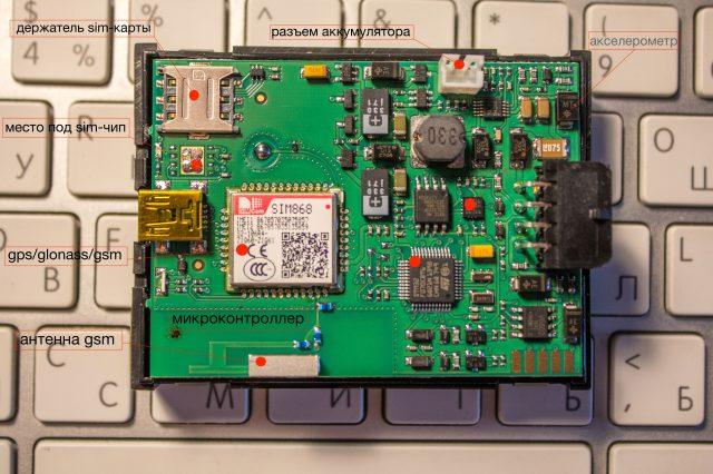 Навигационный терминал Arnavi Integral 3 с комбо-модулем SimCom SIM868