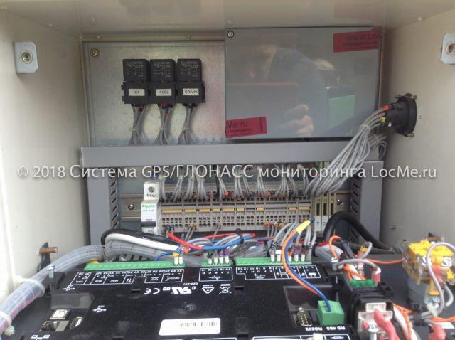 Установка системы мониторинга на ДЭС