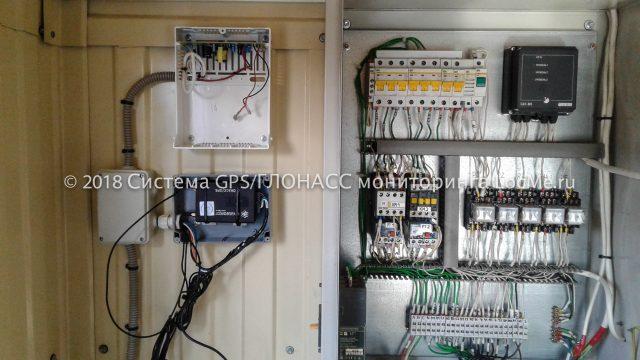 Монтаж системы мониторинга на промышленный парогенератор на дизельном топливе