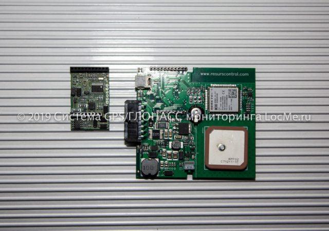 Навигационный контроллер RC mini - печатная плата и плата расширения RC clever