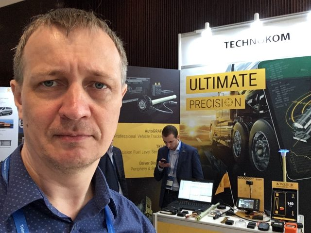 Стенд компании ТехноКом на Telematics Conference Middle East & Africa в Дубае