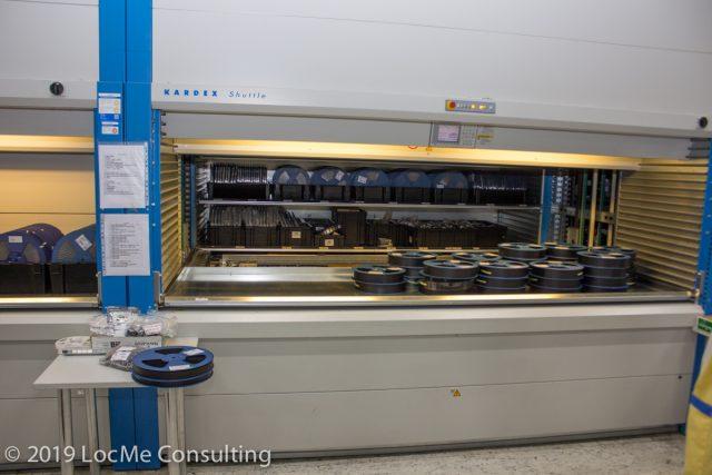 Автоматизированное хранилище электронных компонентов