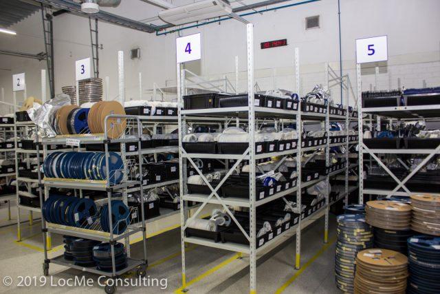 Электронные компоненты подготовленные к производству компании Teltonika