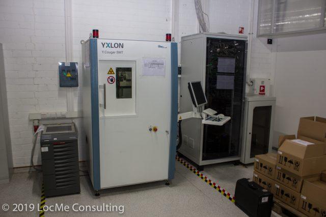 Промышленный рентген аппарат для контроля качества электроники