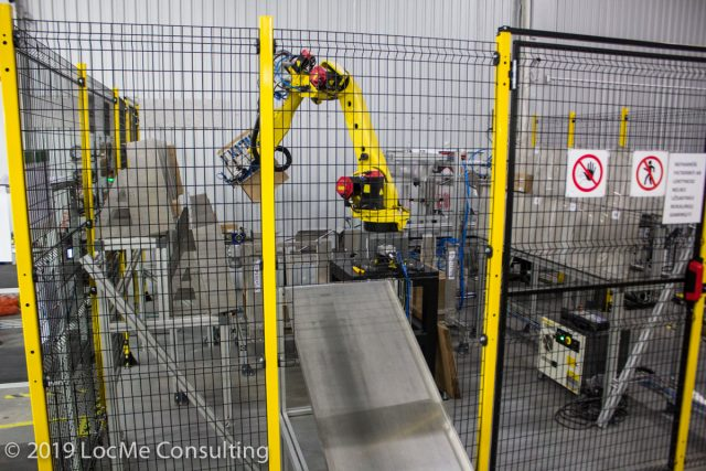 Teltonika PacMan - робот упаковщик