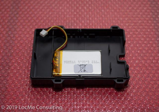 Навигационный терминал BCE FMS500 XtCAN встроенный аккумулятор.