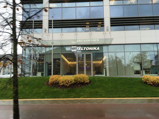 Офис компании Телтоника в Вильнюсе
