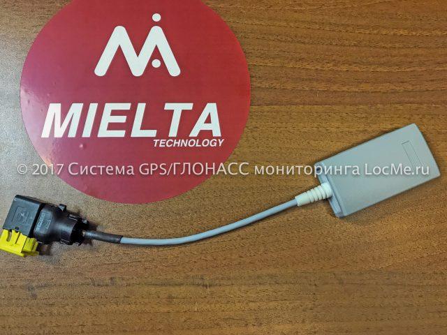 Устройство настройки датчиков уровня топлива и переходник для ДУТ Mielta