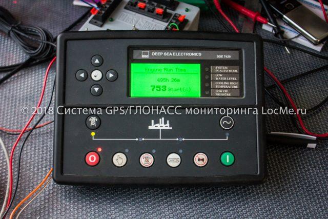 Панель управления ДЭС Deep Sea Electronics DSE 7420