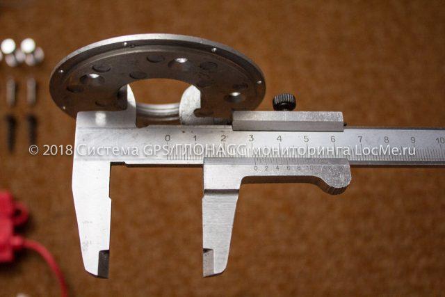 Фланец из установочного комплекта датчика Уровень М1