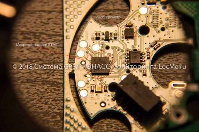 Используется микроконтроллер STM32